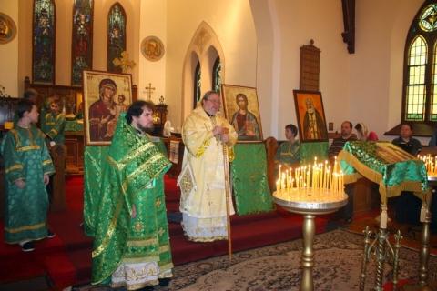 Festive Liturgy at St Seraphim's