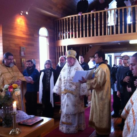 Festal Liturgy and Ordinations