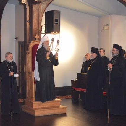 Serbian Patriarch visits Montreal