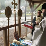 Holy Apostles Orthodox Mission - Great Blessing of Water at Cultus Lake, BC