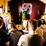 Vespers at Christ the Saviour Mission, Winkler, MB (Photo credit: Nicolas Svetlovsky)