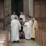 L'accueil de l'archevêque