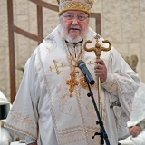 Archbishop Irenée preaches homily and recalls memories of Archimandrite Alexander
