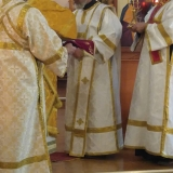 Newly ordained Deacon Paul