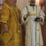 Deacon Paul and Archbishop Irénée