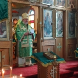 Hierarchical Divine Liturgy and Vespers of Pentecost at Holy Trinity Cathedral, Winnipeg, MB