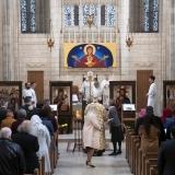 Divine Liturgie pontificale à la chapelle du Trinity College