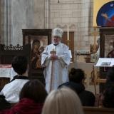 L'archevêque Irénée prêchant