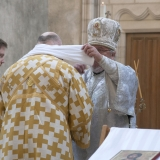 Washing of the Archbishop's hands