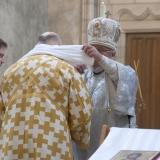 Lavement des mains de l'archevêque