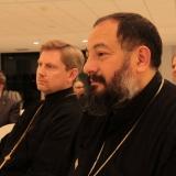 Fr Geoffrey Ready (Holy Myrrhbearers Orthodox Mission) with Fr Pishoy Salama (St Maurice and St Verena Coptic Orthodox Church)