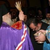 On Wednesday evening, September 30, the Rite of Nomination, Proclamation, and Acceptance by Archimandrite Irénée took place at the cathedral immediately before Vigil for the Feast of the Protection of the Mother of God.