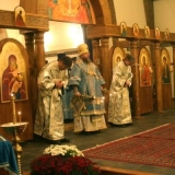 Vigil for the Feast of the Protection of the Mother of God.