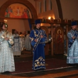 Hierarchical Divine Liturgy for the Feast of the Protection of the Mother of God, October 1, 2009.