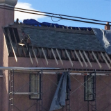 Rafter Twinning on North Side of Church