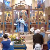 The Feast of the Dormition at St Herman of Alaska Church, Edmonton